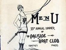 Records of the Palisade Boat Club, 1891 and 1920