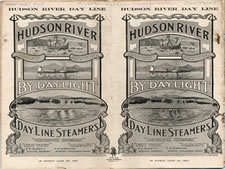 Day Line Steamers Brochure, 1907